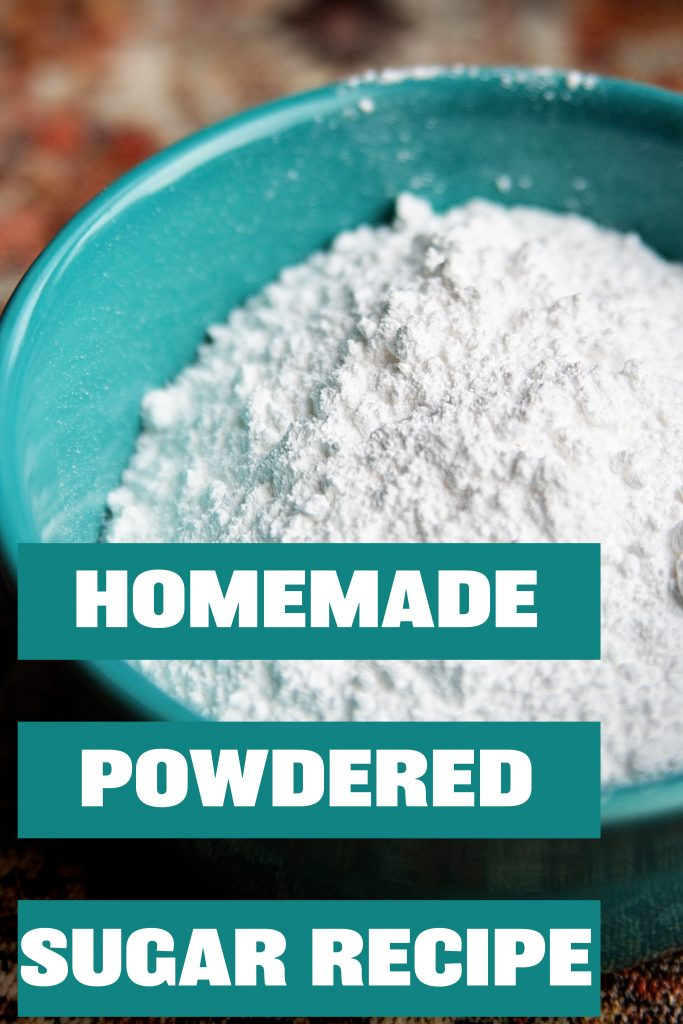 Learn just how simple it is to make homemade powdered sugar at home with a blender!